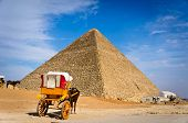 Pyramid Of Khafre In Giza, Egypt
