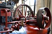 steam engine in Technik Museum