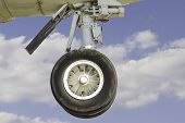 Commerical Airplane Landing Gear