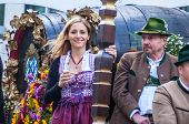 Parade Of The Hosts Of The Wiesn
