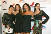 HOLLYWOOD -  Vassy Karagiorgos, Patricia Kara, Sofia Milos and Ariana Savalas arrive at the 2013 Philhellenes Gala at the SkyBar on October 9, 2013 at the Mondrian Los Angeles, West Hollywood, CA.