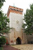 St. Florian's Gate in Cracow, Poland