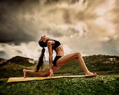 Warrior Yoga Pose