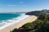 Carbis Bay Cornwall England near St Ives