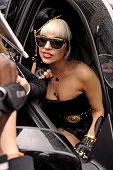 Pop Superstar Lady Gaga Leaves ABC Studios