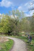 Nette River,Lower Rhine region,Germany