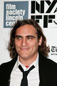NEW YORK-OCT 12: Actor Joaquin Phoenix attends