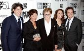 NEW YORK- OCT 8: Actor Robert Redford (C) and cast attend the premiere of