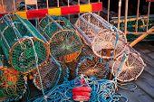 Crab And Lobster Pots