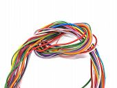 Close Up Of Multicoloured Wire