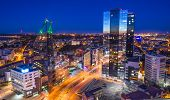Tallinn, Estonia financial district.