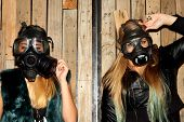 Women With Gasmasks