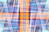 Abstract Crossing Light Beams