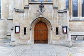 image of templar  - Entrance in Knights Templar Church in London City - JPG