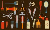 hairstyling objects