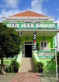 picture of curacao  - Typical residence in Willemstad - JPG
