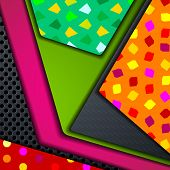 eps10, multi layered abstract background
