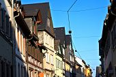 Historic Half Timbered Houses In Eltville