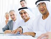 Global Business with Arabic Businessmen