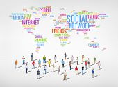 Social Networking: Diverse World People