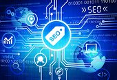 SEO Search Engine Optimisation Background