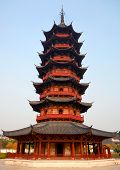 Ruiguang Ta Pagoda, dating from the 3rd Century AD, Suzhou, China