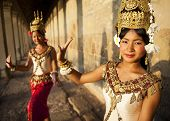 Traditional Aspara Dancers, Siem Reap, Cambodia