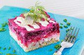 Russian Herring Salad Shuba