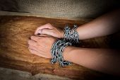 Chained Hands