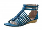 weaved sandal shoe