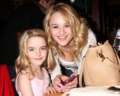 LOS ANGELES - MAR 25:  McKenna Grace, Hunter King at the Young and Restless 41st Anniversary Cake at