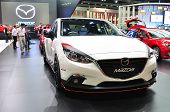 Nonthaburi - March 25: New Mazd3On Display At The 35Th Bangkok International Motor Show On March 25,