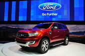 Nonthaburi - March 25: New Ford Everest On Display At The 35Th Bangkok Thailand International Motor