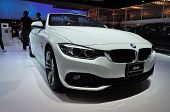 Nonthaburi - March 25:new Bm 420D Convertible Sport On Display At The 35Th Bangkok International Mot
