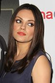 LOS ANGELES - MAR 27:  Mila Kunis at the  CinemaCon 2014 - Warners Brothers Photocall at Caesars Pal