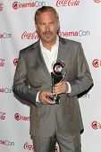 LOS ANGELES - MAR 27:  Kevin Costner at the  CinemaCon 2014 Awards Gala at Caesars Palace on March 2