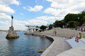 Quay Sevastopol Bay
