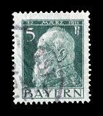 Bayern stamp 1911