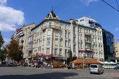 Beautiful Building In Bol'shaya Zhitomirskaya Street