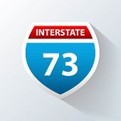 Interstate Vector Icon