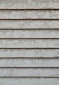 Dusty Old White Window Shutters Background Horizontal
