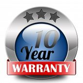 10 year warranty top quality product ten years assurance and replacement best top quality guarantee
