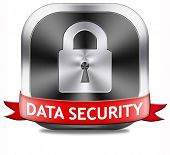 data security and safe secure internet protect online information safety or database in the cloud
