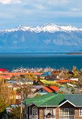foto of natal  - Strait Of Magellan Puerto Natales Patagonia Chile - JPG