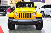 Nonthaburi - March 25: New Jeep Wrangler Sahara On Display At The 35Th Bangkok International Motor S