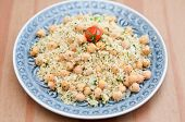 Healthy Couscous Salad with Chickpeas
