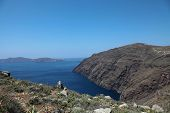 Oceanfront On Santorini Island