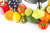 Juicing machine fresh fruits and vegetables