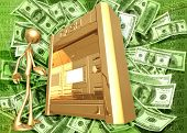 3D Giant Cash Machine Concept