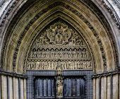 Westminster Abbey Entrance Door